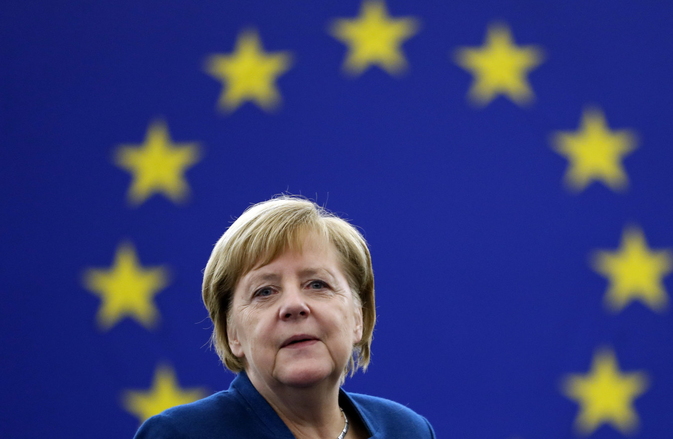 Europe must take our fate into our own hands': Angela Merkel