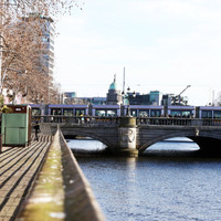 Luas back operating through city centre with delays after coach breaks down on tracks