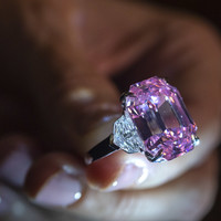 'The Leonardo da Vinci of diamonds': €44 million pink diamond smashes record at Geneva auction