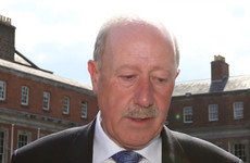 Justice Minister 'cannot say at this stage' if Callinan's pension will be cancelled
