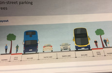 Plans rolled out for continuous bus lanes in Dublin - but property owners to lose parts of gardens to make way