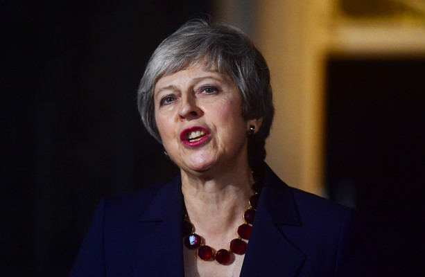 68e776f4ae Theresa May wins over her Cabinet on Brexit deal that Barnier says avoids  hard border