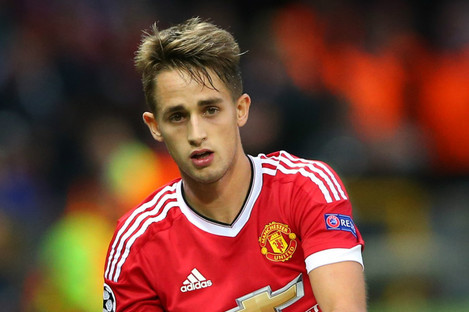 Adnan Januzaj at Manchester United.