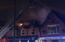 Firefighters battle blaze overnight in Finglas