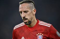 Ribery apologises in video message for reportedly slapping TV pundit