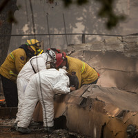 California wildfires: 63 dead, more than 600 missing