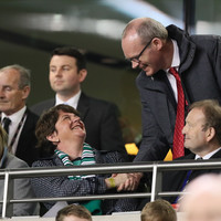 Simon Coveney hits out at 'idiots' who booed God Save the Queen at Northern Ireland match
