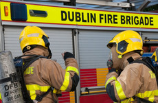 Fire brigade tackle blaze at house in South Dublin