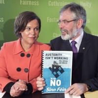 """This issue simply doesn't arise"" - Gerry Adams rules out coalition with FF"