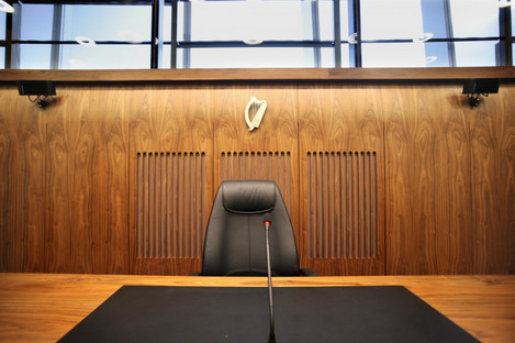 File photo of a courtroom