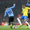 Neymar goal sees Brazil earn win over Uruguay in feisty friendly