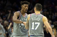 76er Butler aims dig at ex-teammates, Irving finds 'peace' in 43-point haul for Celtics