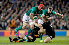 LIVE: Ireland v New Zealand, November Tests