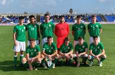 Arsenal youngsters strike late as Ireland U18s stunned by England comeback