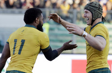 Koroibete's double downs Italy as Wallabies get back to winning ways