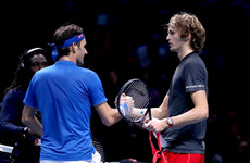 Confusion and drama as Zverev stuns Federer at ATP World Tour finals