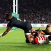 Fiji-born Cokanasiga scores debut Test try as second-half surge sees England overcome Japan