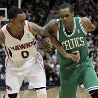 Rajin': Rondo ejected as Hawks take playoff opener