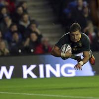 Pollard stars as South Africa down Scotland at Murrayfield
