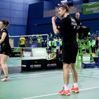 Magees deliver majestic display to seal Irish Open Badminton mixed doubles crown