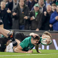 Relive the superb Stockdale try that helped Ireland to victory over the All Blacks