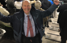Michael D Higgins and Shane Ross fly out with congrats for Ireland's win over All Blacks