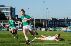 Ireland Women come up short against USA as 16-year-old Parsons debuts
