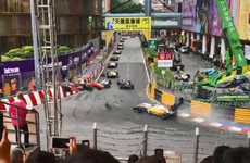 17-year-old female German driver fractures spine in Macau GP horror crash