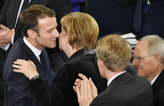 Macron issues plea to Merkel for stronger Europe to help prevent world 'slipping into chaos'