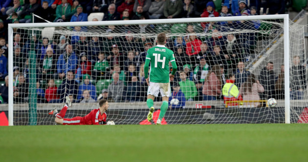 Northern Ireland go down to 92nd-minute Austrian stunner in Belfast