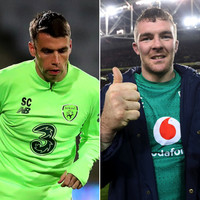 'They were wearing that green Ireland jersey and when they're wearing that we're all together'
