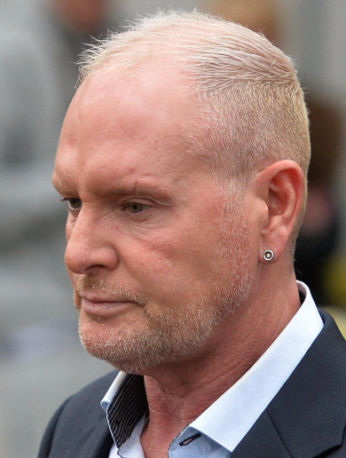 Former England footballer Paul Gascoigne charged with sexual assault during a train journey