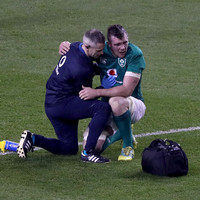 Just a dead leg for O'Mahony after magnificent performance against New Zealand