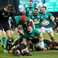 One million people watched Ireland beat New Zealand