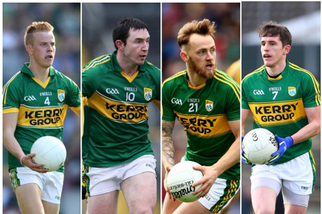 Fitzgerald, Casey, Keane and Shanahan.