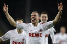 Status update: Podolski announces Arsenal move on Facebook