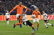 Van Dijk scores 91st-minute equaliser as Netherlands secure incredible draw against Germany