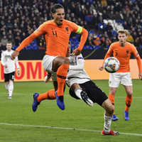 Van Dijk scores 91st-minute equaliser as Netherlands secure incredible draw against Germany