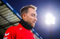 Christian Eriksen says Ireland were 'too scared' against Denmark