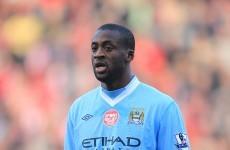 Blue Monday: Yaya Toure demands City victory
