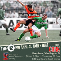The42's Big Annual Sports Table Quiz is coming to Cork next week