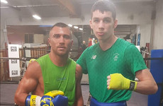 Monaghan youngster McKenna spars pound-for-pound star Lomachenko ahead of new-year debut