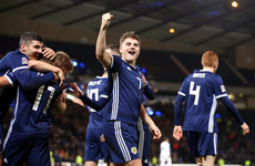 Brilliant night for Scotland as Celtic star's hat-trick secures Euro 2020 play-off place