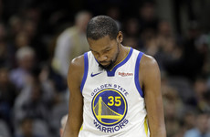 Kevin Durant fined $25,000 for obscenity-laced response to heckling fan