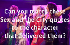 Can you match these Sex and the City quotes to the character that delivered them?