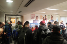 Residential Tenancies Board hearing cancelled after protesters occupy office over family's eviction