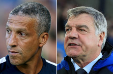 Hughton dismisses link to vacant Ireland job but Big Sam declares his interest