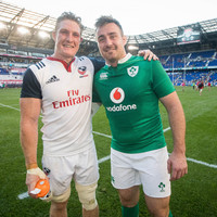 Exiles Mullen and Quill named in USA team for Aviva Test