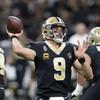 Brees throws four touchdown passes as Saints down Falcons to hit 10-game winning streak
