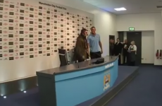 VIDEO: Liam Gallagher invites himself to post-match press conference
